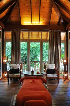 Spa treatments at Cerf Resort